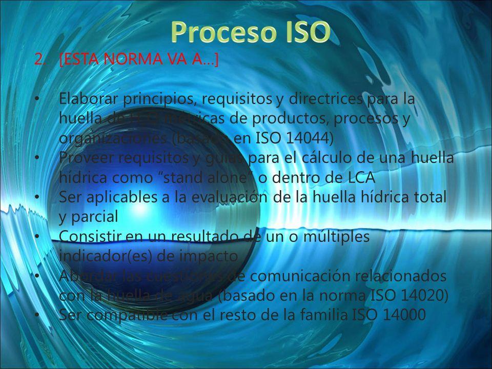 Proceso ISO [ESTA NORMA VA A…]